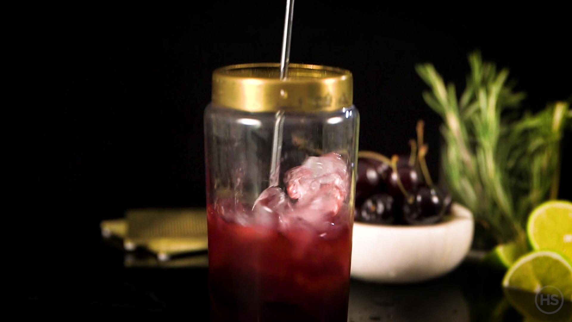 Vodka martini glassware