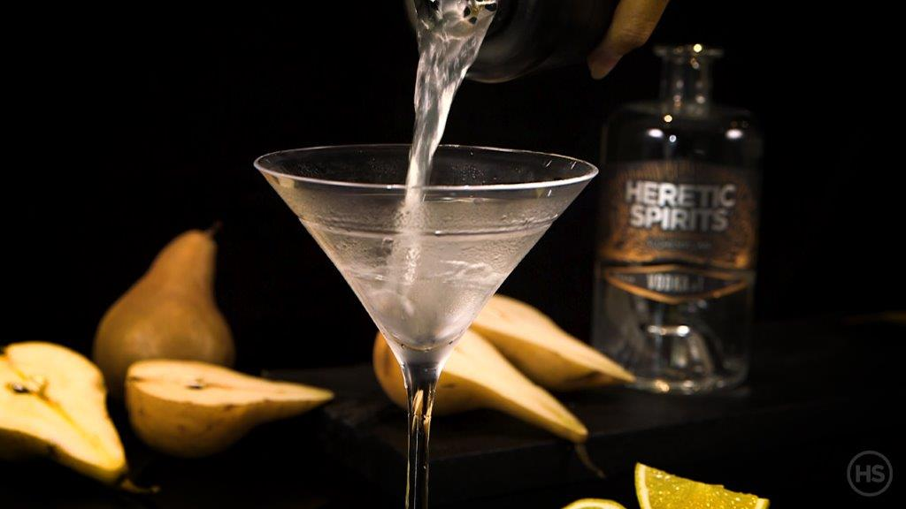 How to make a Vodka martini cocktail