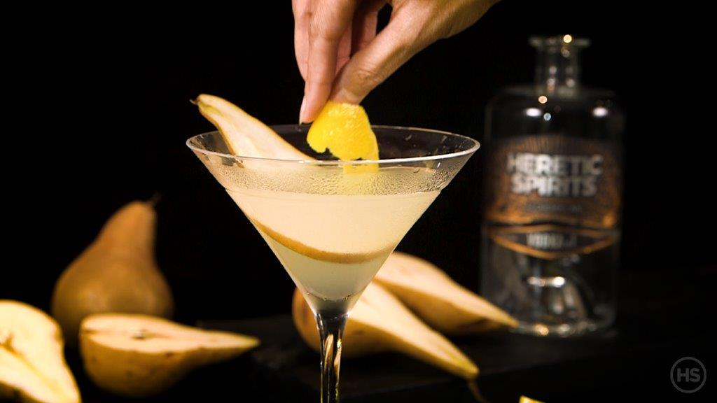 How to serve a vodka martini