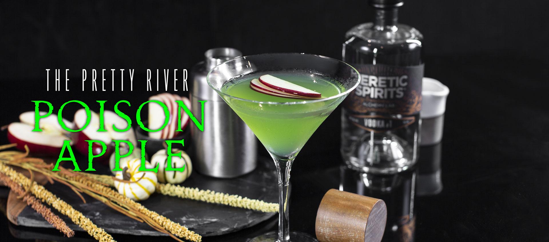 Poison apple cocktail recipe