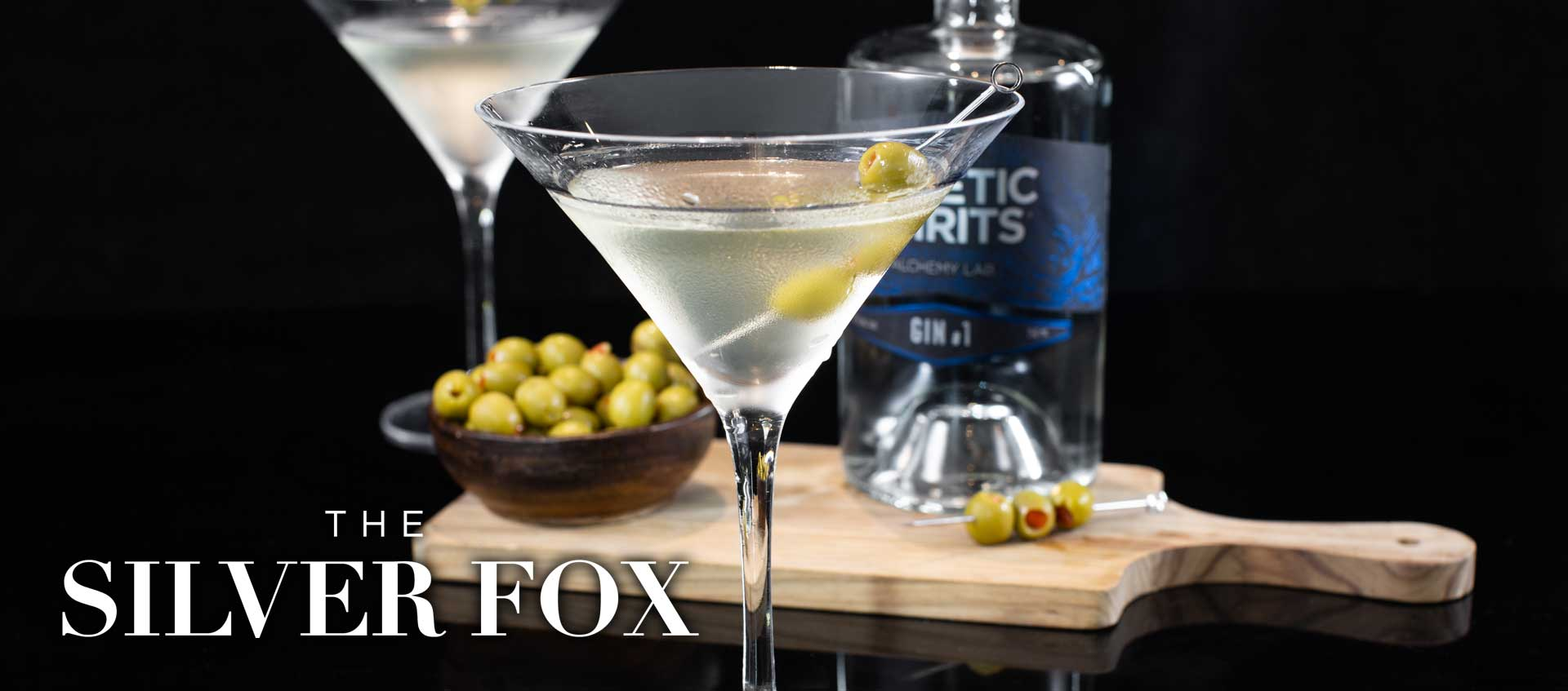 Gin martini cocktail recipe