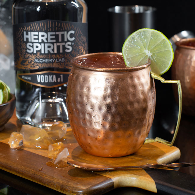Moscow mule cocktail - Heretic Spirits