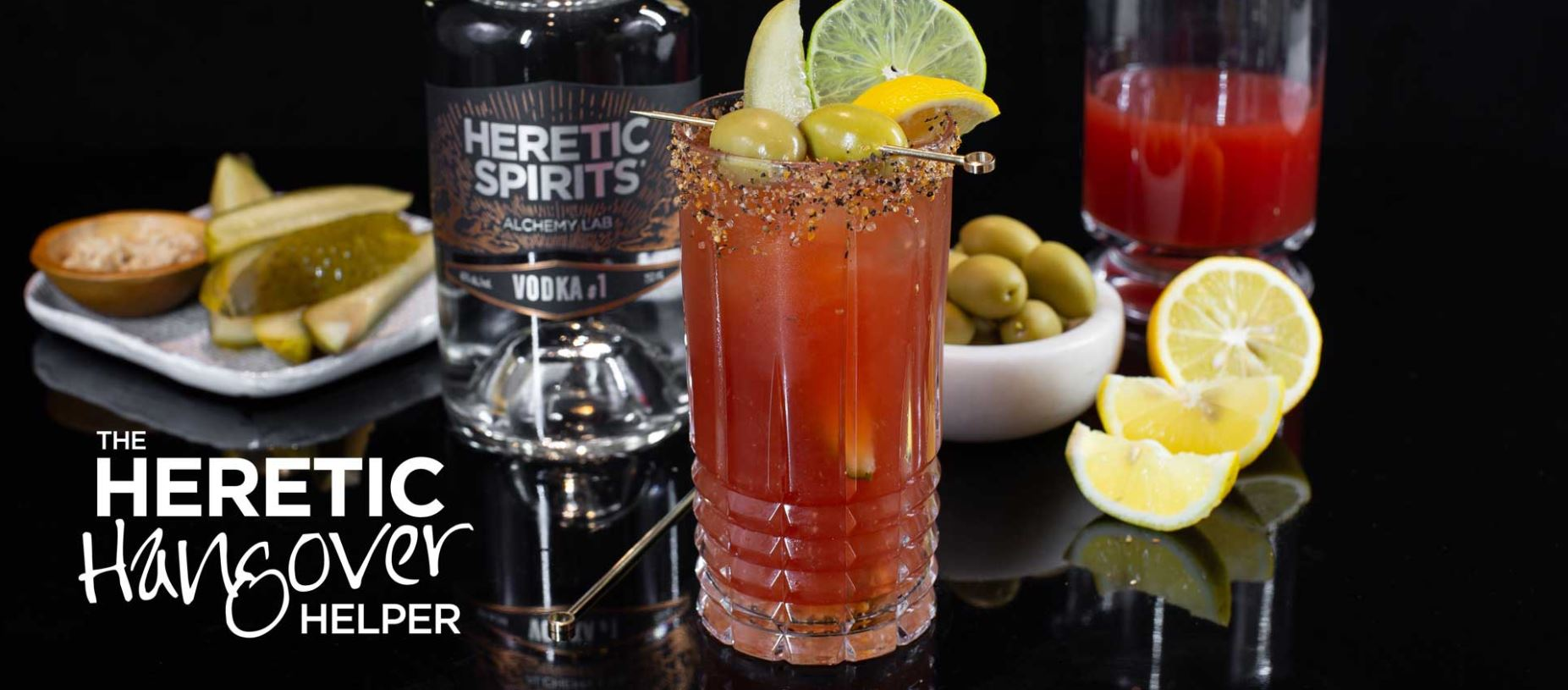 Bloody caesar cocktail recipe